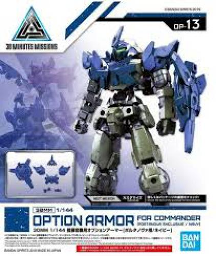 GUNDAM BANDAI 30MM 1/144 OA FOR COMMANDER [PORTANOVA / NAVY] GUN58191 No Figure